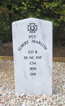 Pvt Elbert King Marlow