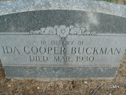 Sarah Ida <i>Lamay Cooper</i> Buckman