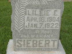 Lillie E Siebert