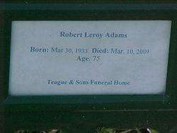 Robert Leroy Adams
