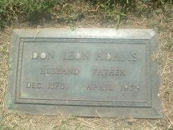 Don Leon Adams