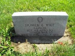 Homer Earl Wilt