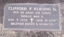 Clifford Frederik Cliff Kliesing, Sr