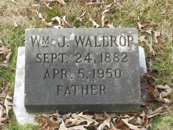 William Jasper Waldrop, Sr