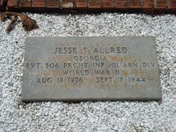 Pvt Jesse T. Allred