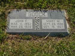 Mary <i>Mellen</i> Bouck