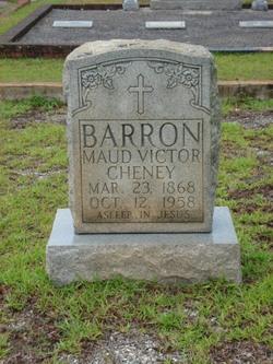 Maud Victor <i>Cheney</i> Barron