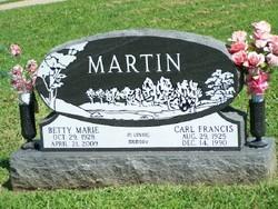 Betty Marie <i>Burson</i> Martin