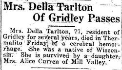 Dilla Delight Della <i>Bates</i> Tarlton
