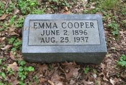 Emma <i>Evans</i> Cooper