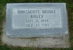 Marguerite <i>Weddle</i> Bailey