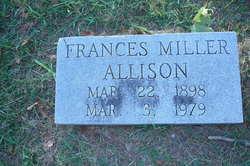 Frances <i>Miller</i> Allison