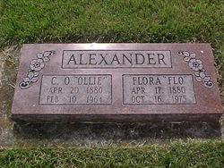 Flora <i>Gaddy</i> Alexander