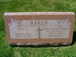 Mary A. <i>Tiefenbrunn</i> Baker