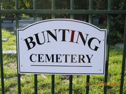 Bunting Cemetery