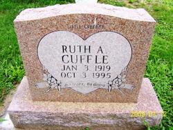 Ruth A. <i>Liggett</i> Cuffle