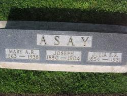 Mary Amanda <i>Roberts</i> Asay