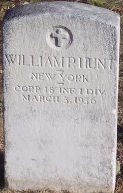 Corp William P Hunt