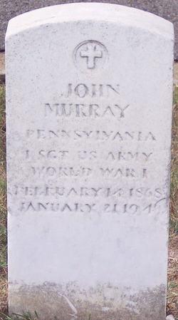 1SGT John Murray