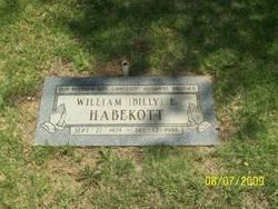 William Billy Habekott