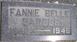 Fannie Belle <i>Hunley</i> Barber