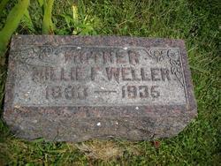 Millie F. <i>Gilbert</i> Weller
