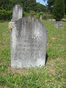 Mary Susan <i>Workman</i> McKittrick