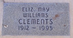 May Elizabeth <i>Williams</i> Clements