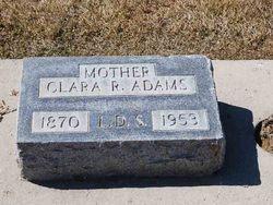 Clara Rosetta <i>Allred</i> Adams