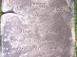 William Harper McCrorey