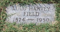 Lulu <i>Harvey</i> Field