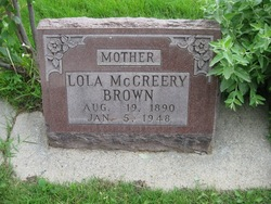 Lola Frances <i>McCreery</i> Brown