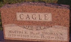 Martha Ann <i>Gass</i> Cagle