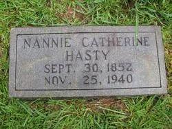 Nancy Catherine Nannie <i>Dunn</i> Hasty