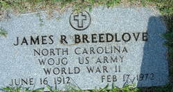 James R Breedlove