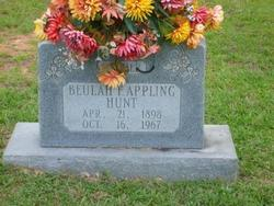 Beluah F <i>Appling</i> Hunt