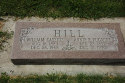 Annie E <i>Pugmire</i> Hill