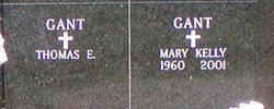 Mary <i>Kelly</i> Gant