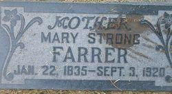 Emma Mary Mary <i>Strong</i> Farrer