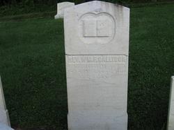 Rev William F Gallison