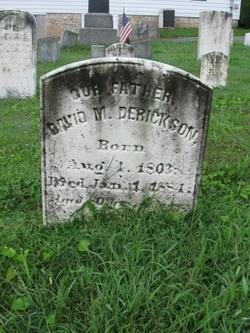 David M Derickson