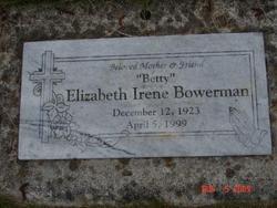 Elizabeth Betty Irene Bowerman