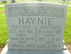 Rebecca Jane <i>Carlile</i> Haynie