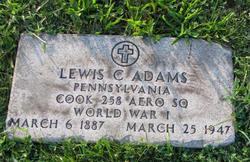 Lewis C Adams