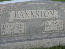 Elvie Buck Bankston