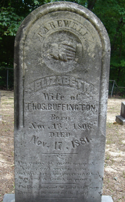 Elizabeth <i>Gilmer/Gilmore</i> Buffington