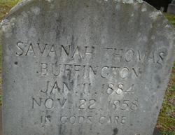 Savanah Thomas Buffington