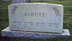 Carolina Margaretha <i>Miller</i> Alrutz