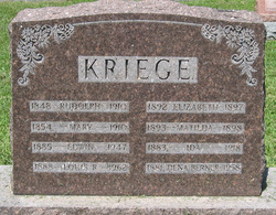 Dena Lizetta <i>Kriege</i> Berner