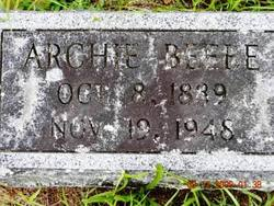 Archie Beebe